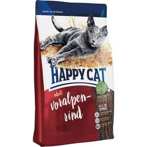Фото - Сухой корм Happy Cat Adult Bavarian Beef альпийская говядина для взрослых кошек 10кг (70202) happy cat клм ванной начисто стреловидности воды скребком соскоб тройную волшебной метлы c4