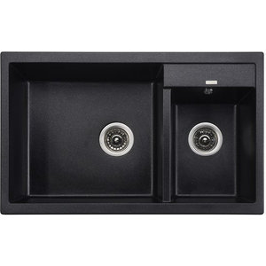 Кухонная мойка Kaiser Granit 80x50x19 черный мрамор Black Pearl (KG2M-8050-BP) bryston bp 26 17 black mps2 da