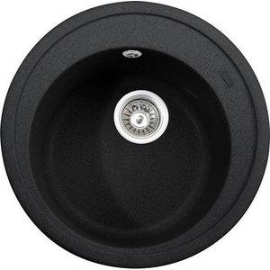 Кухонная мойка Kaiser Granit D49 черный мрамор Black Pearl (KGM-490-BP) цена