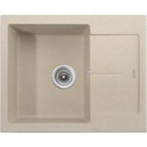 Кухонная мойка Kaiser Granit 62x50x22 песочный Sand (KGMK-6250-S) weissgauff quadro 420 eco granit песочный
