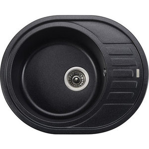 Кухонная мойка Kaiser Granit 62x50x22 черный мрамор Black Pearl (KGMO-6250-BP) бюстгальтер patti black pearl черный 75c ru
