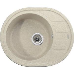Кухонная мойка Kaiser Granit 62x50x22 песочный Sand (KGMO-6250-S) weissgauff midas granit песочный