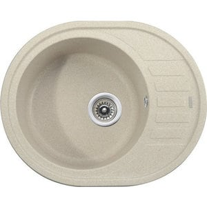 Кухонная мойка Kaiser Granit 62x50x22 песочный мрамор Sand Beige (KGMO-6250-SB) weissgauff midas granit песочный
