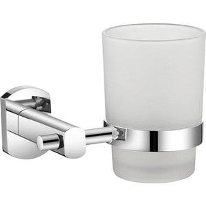 Стакан для зубных щеток Milardo Neva матовое стекло/хром (NEVSMG0M45)