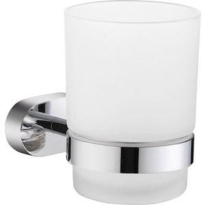 Стакан для зубных щеток Milardo Solomon матовое стекло/хром (SOLSMG0M45)
