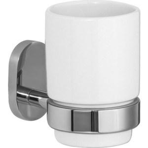 Стакан для зубных щеток IDDIS Mirro Plus белый (MRPSBC1i45)  полотенцесушитель iddis mirro двойной mirsb22i49