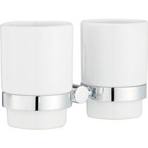 Стакан для зубных щеток IDDIS Mirro Plus белый (MRPSBC2i45) система душевая iddis mirro plus 300мм б смесителя хром