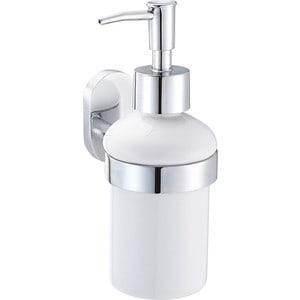 Дозатор для жидкого мыла IDDIS Mirro Plus белый (MRPSBC0i46) мыльница iddis mirro