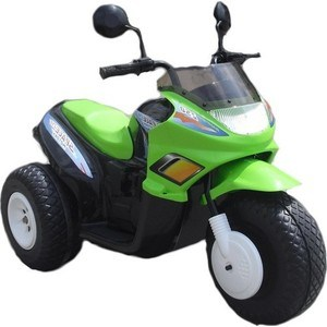 Электромобиль CHIEN TI Super Space (CT-770) черно-зеленый электромобиль chien ti beach racer ct 558 зеленый