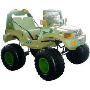 Электромобиль CHIEN TI OFF-ROADER (CT-885 4x4) зеленый камуфляж электромобиль chien ti beach racer ct 558 зеленый