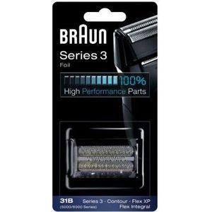 Аксессуар Braun Сетка и режущий блок 31B i 210 light turquoise сияющие сменный блок