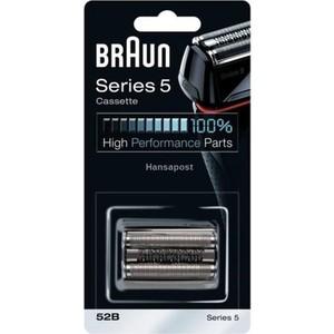 Аксессуар Braun Сетка и режущий блок 52B сетка и режущий блок для электробритв braun series 9 92s
