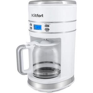 Кофеварка KITFORT KT-704-1 кофеварка kitfort kt 715 black steel