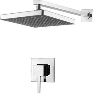 Душевая система Kaiser Quadris смеситель с верхним душем (25170) смеситель с душем недорого купить