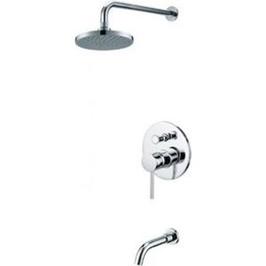 Душевая система Kaiser Merkur смеситель с верхним душем и изливом (38118) смеситель с душем недорого купить