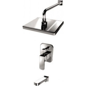 Душевая система Kaiser Sonat смеситель с верхним душем и изливом (34322) смеситель с душем недорого купить