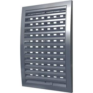 Решетка Era наружная ASA вентиляционная регулируемая 350х350 серая (3535РРПН сер) стоимость