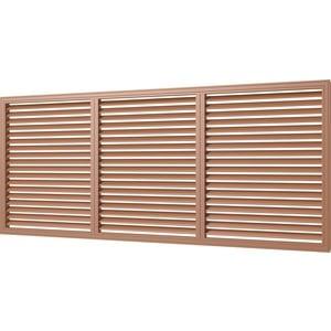 Решетка Era вентиляционная профиль ПВХ 600х1500 вишня (П60150Р вишня) jajalin розовая вишня