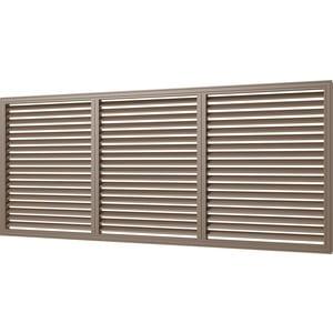 Решетка Era вентиляционная ПВХ 600х1500 дуб (П60150Р дуб)
