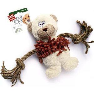 Игрушка GiGwi Dog Toys Squeaker медведь с пищалкой для собаки (75064) gigwi