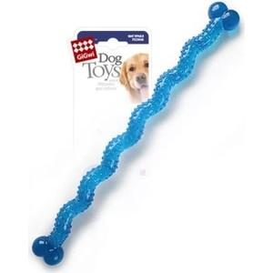 Игрушка GiGwi Dog Toys Rubber резиновая косточка длинная для собак (75249) игрушка для собак dezzie косточка