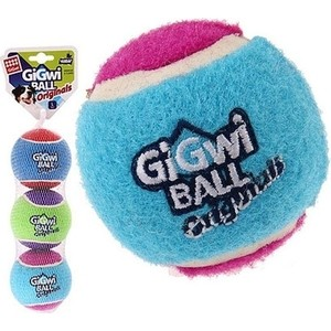 Игрушка GiGwi Ball Original мяч с пищалкой для собак (75337) мячик gigwi 75074 с лисьим хвостом и пищалкой