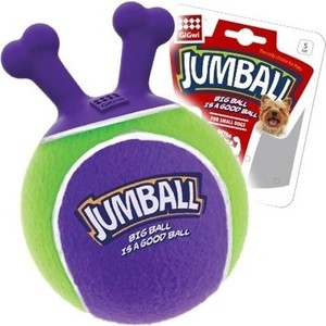 Игрушка GiGwi Jumball Big Ball Is a Good Ball мяч с захватом для собак (75363) 1 5m air bumper ball body zorb bumper ball body zorbing human hamster ball