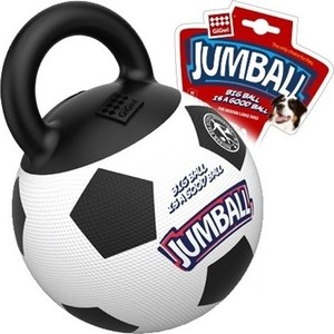 Игрушка GiGwi Jumball Big Ball Is a Good Ball мяч с захватом для собак (75365) 1 5m air bumper ball body zorb bumper ball body zorbing human hamster ball