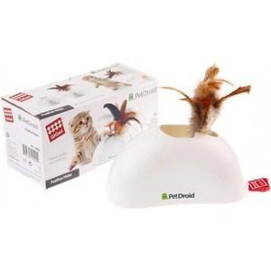 Игрушка GiGwi PetDroid Feather Hider интерактивная со звуковым чипом для кошек (75311) игрушка gigwi petdroid interactive mouse sound chip inside интерактивная мышка для кошек 75359