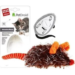Игрушка GiGwi PetDroid Interactive Mouse Sound Chip Inside интерактивная мышка для кошек (75359) 2pcs lot axp202 qfn48 laptop chip offen use chip new original