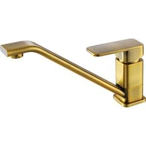 Смеситель для кухни Kaiser Sonat бронза Bronze светлая (34033Br) смеситель для мойки коллекция sonat 34010 1g однорычажный античная бронза kaiser кайзер