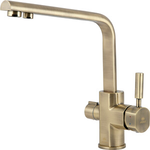 Смеситель для кухни Kaiser Decor под фильтр, бронза Bronze (40144-3) смеситель для кухни kaiser decor под фильтр хром 40144
