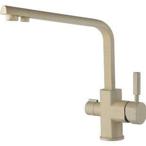 Смеситель для кухни Kaiser Decor под фильтр, бежевый мрамор Ora (40144-7 ORA)