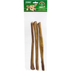Лакомства TitBit Лакомый кусочек Dent корень бычий 3х30см для собак (1860) титбит лакомство хрустики диетические из говяжьей кожи для собак titbit dent 1 шт