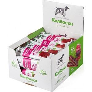 Лакомства TitBit Mini колбаски кровяные 85% мясных продуктов для собак (5196) titbit titbit косточка caro с желудком говяжьим mini 2