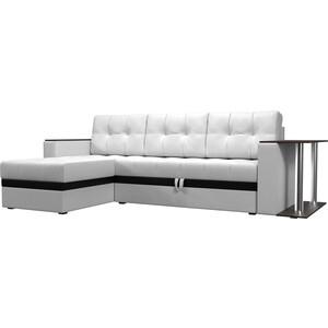Фотография товара диван угловой АртМебель Атлант эко кожа белый левый (683762)