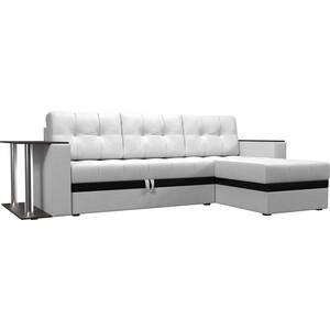 Фотография товара диван угловой АртМебель Атлант эко кожа белый правый (683763)
