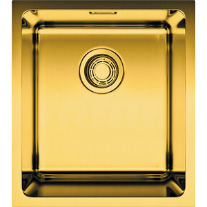 Кухонная мойка Omoikiri Notoro 39-AB, 390х440, античная латунь (4993078) кухонный смеситель omoikiri tateyama s gr латунь гранит leningrad grey 4994176