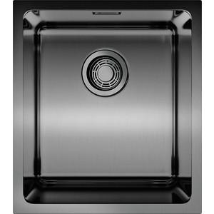 купить Кухонная мойка Omoikiri Notoro 39-GM, 390х440, вороненая сталь (4993079) по цене 18888 рублей