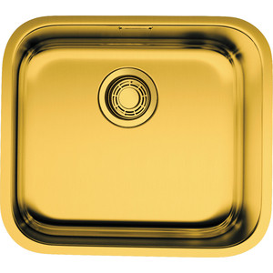 Кухонная мойка Omoikiri Ashino 49-AB, 490х440, античная латунь (4993067) кухонный смеситель omoikiri tateyama s gr латунь гранит leningrad grey 4994176