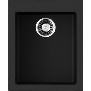 Кухонная мойка Omoikiri Bosen 41-BL, 410х500, черный (4993141) высоторез телескопический comfort starcut 410 bl