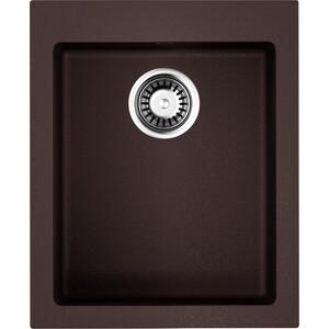 Фотография товара кухонная мойка Omoikiri Bosen 41-DC, 410х500, темный Шоколад (4993217) (683804)