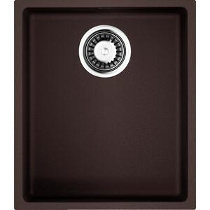 Кухонная мойка Omoikiri Bosen 38-U-DC, 380х440, темный Шоколад (4993229) кухонная мойка omoikiri bosen 38 u pl 380х440 платина 4993230