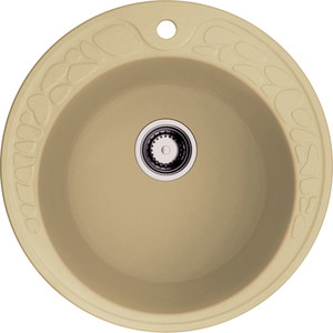 Кухонная мойка Omoikiri Tovada 51-MA, 510х510, марципан (4993364) кухонная мойка omoikiri tovada 51 pa