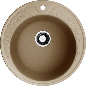 Кухонная мойка Omoikiri Tovada 51-CA, 510х510, карамель (4993366) кухонная мойка omoikiri tovada 51 ma 510х510 марципан 4993364