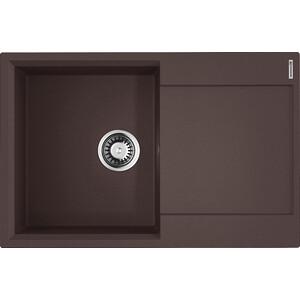 Кухонная мойка Omoikiri Daisen 78-DC, 780х510, темный Шоколад (4993326) кухонная мойка omoikiri daisen 78 ca 780х510 карамель 4993324