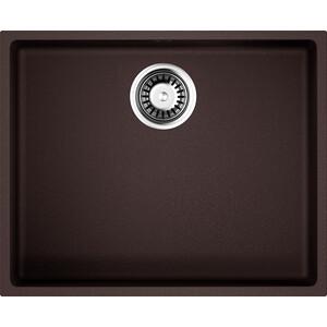 Кухонная мойка Omoikiri Bosen 54-U-DC, 540х440, темный Шоколад (4993232) кухонная мойка omoikiri bosen 54 u wh 540х440 белый 4993164