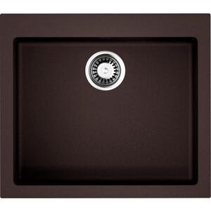 Фотография товара кухонная мойка Omoikiri Bosen 57-DC, 570х500, темный Шоколад (4993220) (683908)