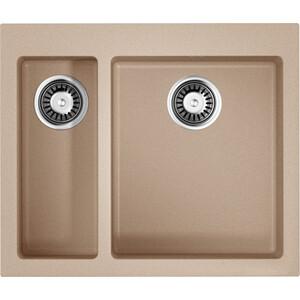 Кухонная мойка Omoikiri Bosen 59-2-SA, 590х500, бежевый (4993151) 909 5