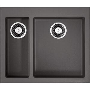 Кухонная мойка Omoikiri Bosen 59-2-PL, 590х500, платина (4993224) кухонная мойка omoikiri bosen 38 u pl 380х440 платина 4993230